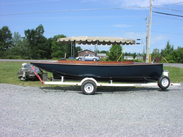 21'7 Feet 2005 Canadian Electric Boat Company Fantail 217