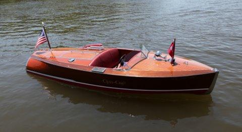 16 Feet 1940 Alan Jacksons Chris Craft Special Race Boat