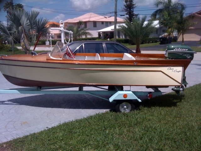 139 Feet 1957 Or 1958 Chris Craft Comet Kit Boat