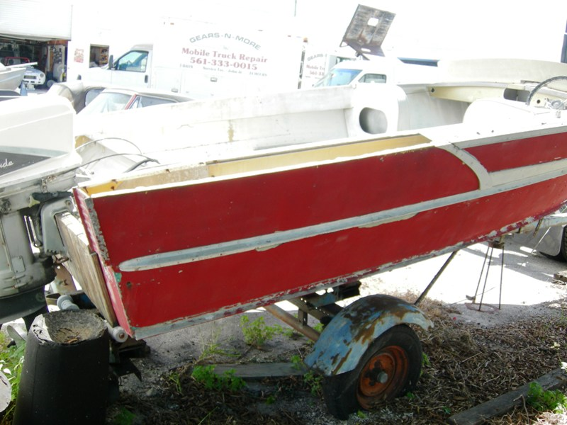 15'11 Feet 1963 Feather Craft Clipper