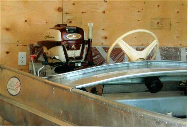16 Feet 1954 Alumacraft Model K Outboard