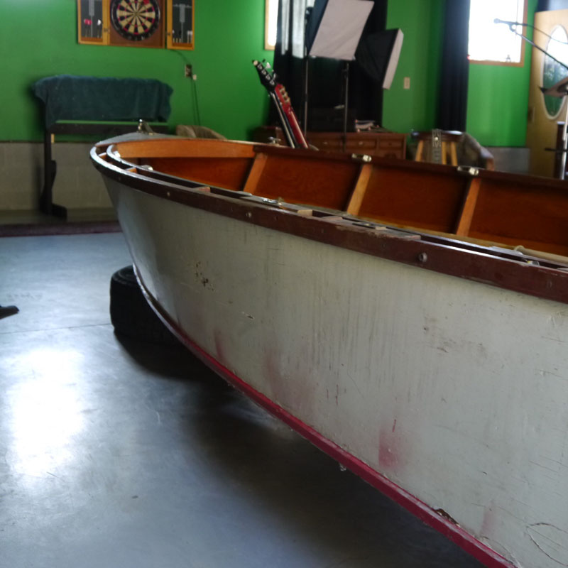 12 Feet 1950s Chris Craft Kit Boat