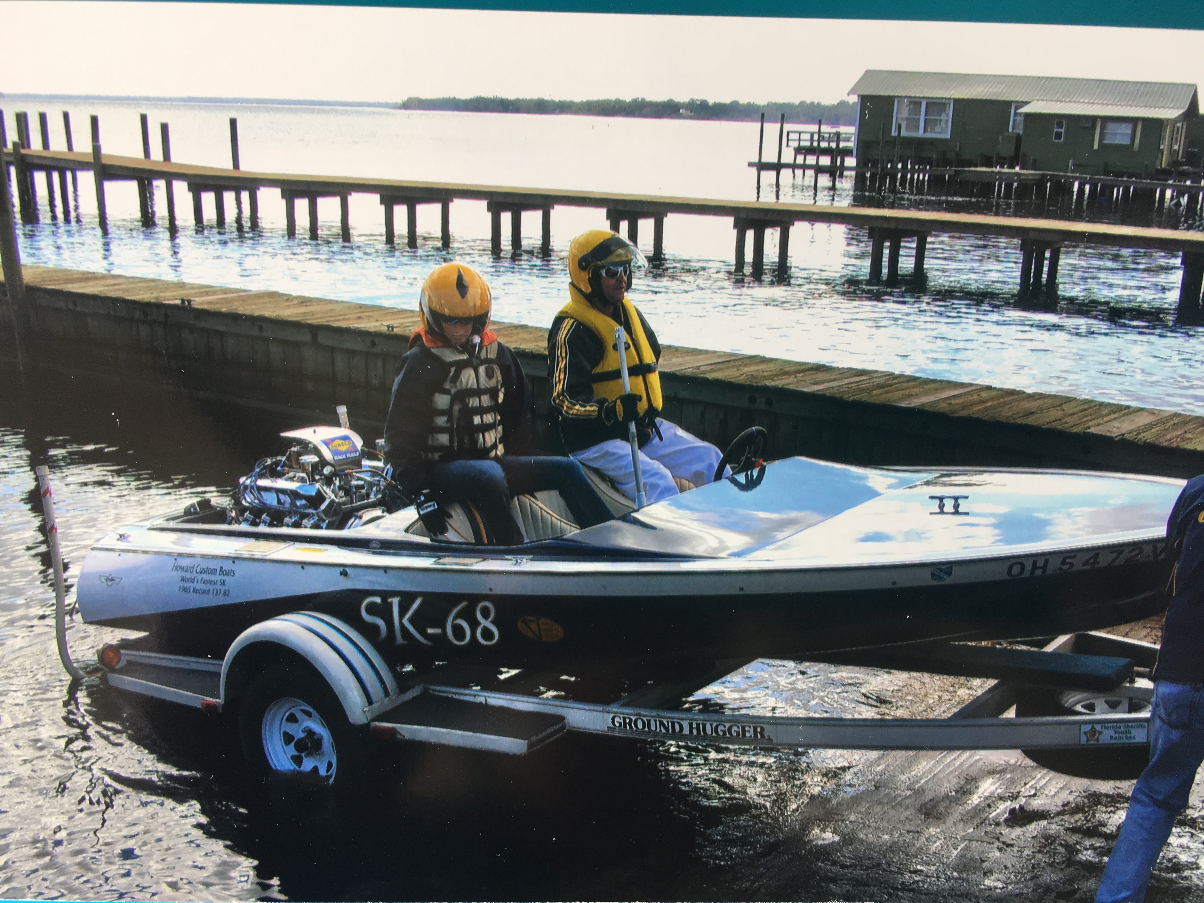18 Feet 1966 Howard Custom Race Boat